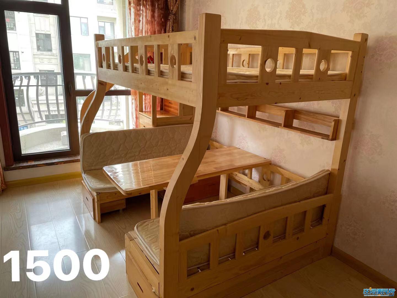 九五成新双层儿童床和沙发出售